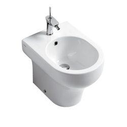 Bidet one hole back to wall Olympia Clear