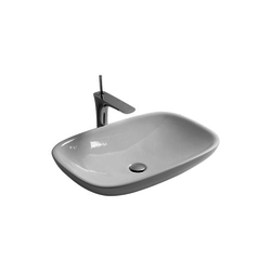 Over top washbasin Olympia Clear