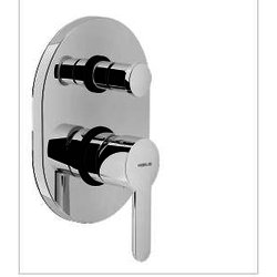 Shower Flush fit single control Chrome Finish Nobili Abc