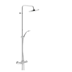 SHOWER COLUMN External single control Chrome Finish Nobili Abc