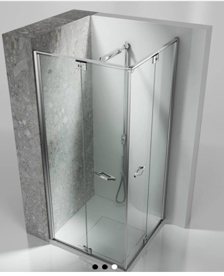 Frameless shower - Linha Replay por Vismaravetro | Tilelook