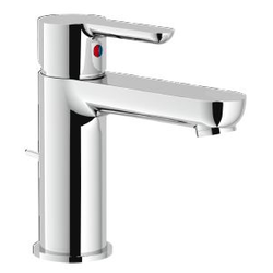 Washbasin Single control Chrome Finish Nobili Abc