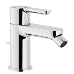 Bidet ECO single control Chrome Finish Swivel jet Nobili Abc