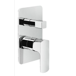 Shower Flush fit single control Chrome Finish Nobili Acquaviva