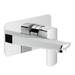 Washbasin Wall mounted single control Chrome Finish Nobili Acquaviva