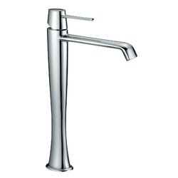 High version single-lever washbasin mixer without pop-up waste F.lli Frattini Delizia