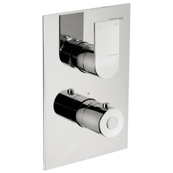 Built-in 2-way thermostatic shower mixer. F.lli Frattini Tolomeo