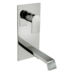 Vertical built-in washbasin mixer without pop-up waste. F.lli Frattini Tolomeo