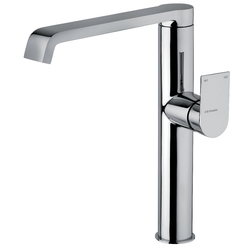 Single-lever sink mixer with swivel spout. F.lli Frattini Tolomeo