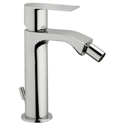 "Single-lever bidet mixer with 1""1/4 pop-up waste. F.lli Frattini Tolomeo"