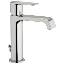 "Single-lever washbasin mixer with 1""1/4 pop-up waste. F.lli Frattini Tolomeo"