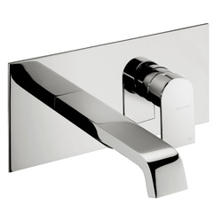 Built-in washbasin mixer without pop-up waste. F.lli Frattini Tolomeo