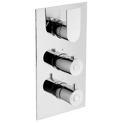 Built-in 3-way thermostatic shower mixer. F.lli Frattini Tolomeo