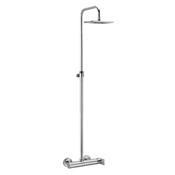External single-lever shower mixer F.lli Frattini Tolomeo