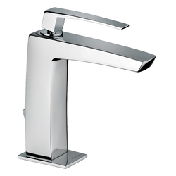 "Single-lever washbasin mixer with 1""1/4 pop-up waste. F.lli Frattini Luce"