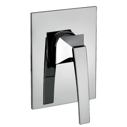 Built-in single-lever shower mixer. F.lli Frattini Luce