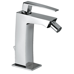 "Single-lever bidet mixer with 1""1/4 pop-up waste. F.lli Frattini Luce"