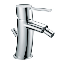 "Single-lever bidet mixer with 1""1/4 pop-up waste. F.lli Frattini Brera"