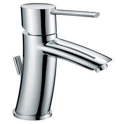 "Single-lever washbasin mixer with 1""1/4 pop-up waste F.lli Frattini Brera"