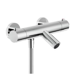 Tub External thermostatic mixer Chrome Finish Nobili Live