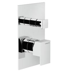 Shower Flush fit single control Chrome Finish Nobili Solido F