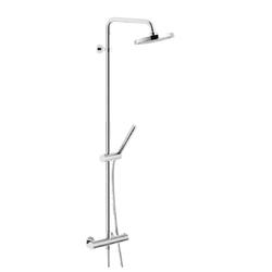 Shower Column External thermostatic mixer Chrome Finish Nobili Plus
