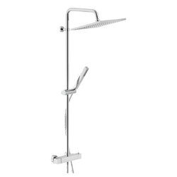 SHOWER COLUMN External thermostatic mixer Chrome Finish Nobili Mia