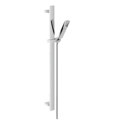 WALL RAIL Wall rail with hand shower Chrome Finish Nobili Free Shower