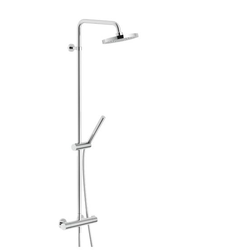 SHOWER COLUMN External thermostatic mixer Chrome Finish Nobili Likid