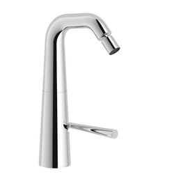 Bidet Single control Chrome Finish Swivel spout Swivel jet Nobili Likid