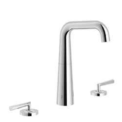 Washbasin 3-hole set Chrome Finish Swivel spout Nobili Likid