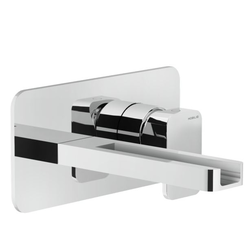 Washbasin Wall mounted single control Chrome Finish Nobili Loop