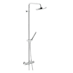 Shower Column External thermostatic mixer Chrome Finish Nobili Live