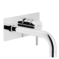 Washbasin Wall mounted single control Chrome Finish Nobili Live