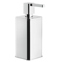 Accessories Soap dispenser Chrome Finish Free-standing - Kolekce Loop od Nobili | Tilelook