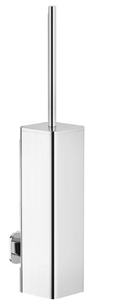 Accessories Brush holder Chrome Finish Wall-mounted - Kolekce Loop od Nobili | Tilelook