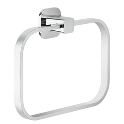 Accessories Towel holder Chrome Finish Wall-mounted Nobili Loop