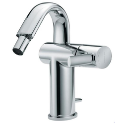 "Single-lever bidet mixer with high spout and 1""1/4 pop-up waste F.lli Frattini Brera"