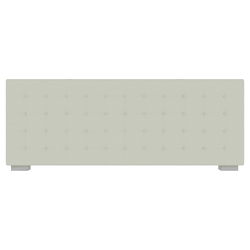 low headboard with buttons for 180 beds Ligne Roset Nador