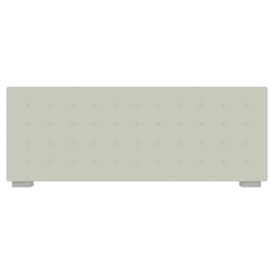 00cci low headboard with embroidered breakpoint stitching for 180 beds Ligne Roset Nador