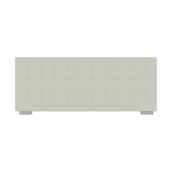 00nse low headboard with buttons for 160 beds Ligne Roset Nador