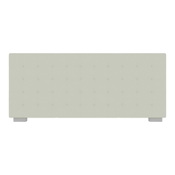 00nse low headboard with embroidered breakpoint stitching for 160 beds Ligne Roset Nador