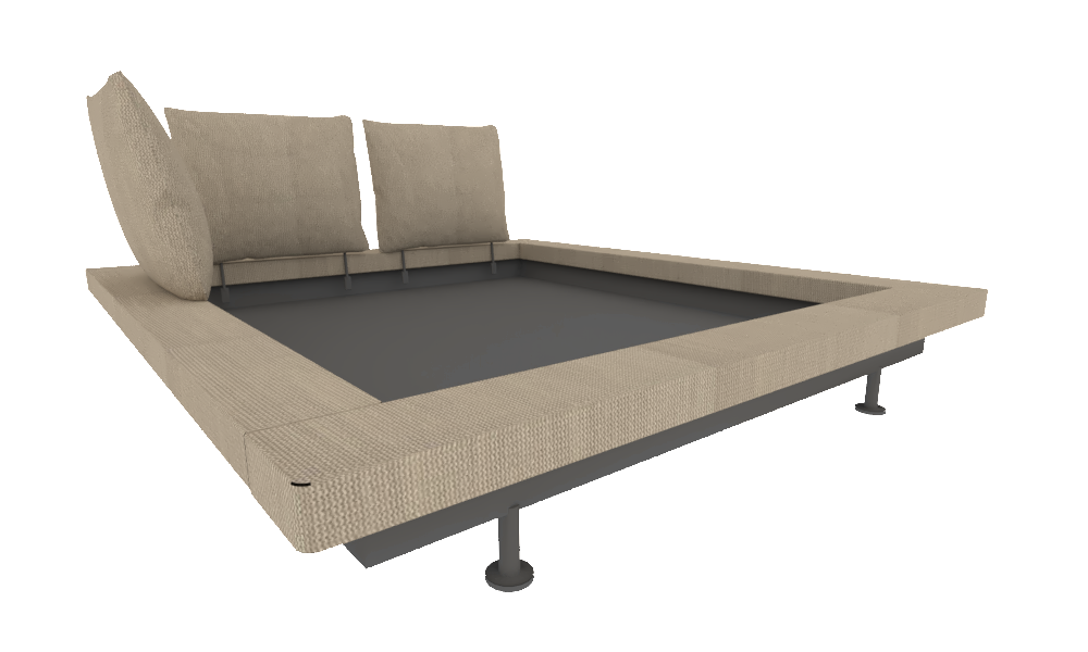 Bedombouw 180 200.00xhb Bed Frame Bed 180 X 200 Collection Peter Maly 2 By Ligne