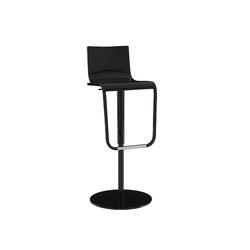 00gja stool black Ligne Roset Jolie