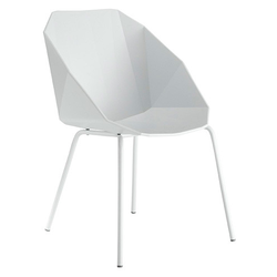 00mqp chairbridge white white lacquered base Ligne Roset Rocher