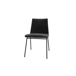 00k4f set of 2 chairs base in satin finish black lacquer Ligne Roset TV