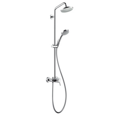 Croma 100 Showerpipe EcoSmart single lever mixer Hansgrohe Croma 100