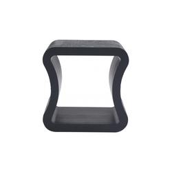 00ub8 sofa end table black stained ash Ligne Roset One Shape