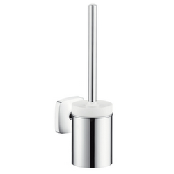 Toilet brush with ceramic holder Hansgrohe PuraVida