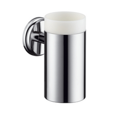 Ceramic toothbrush tumbler with holder Hansgrohe Logis Classic